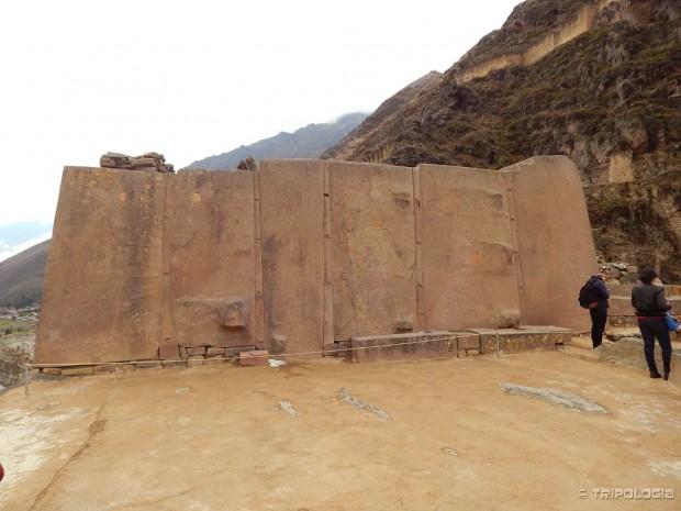 Templo del Sol - šest golemih monolita hrama sunca