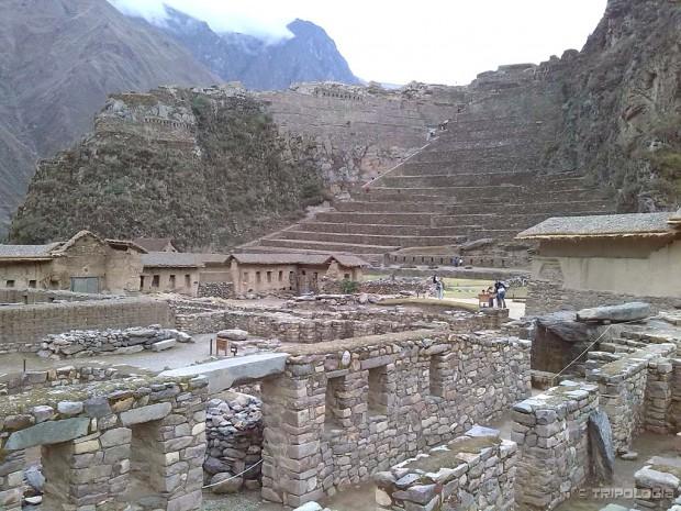 Ollantaytambo - stambeni dio