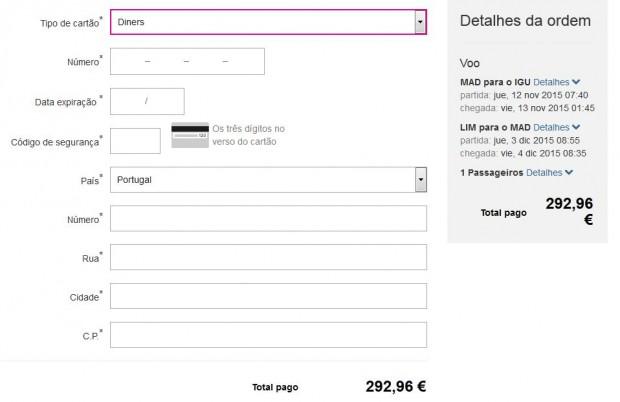 lastminute.com - plaćanje