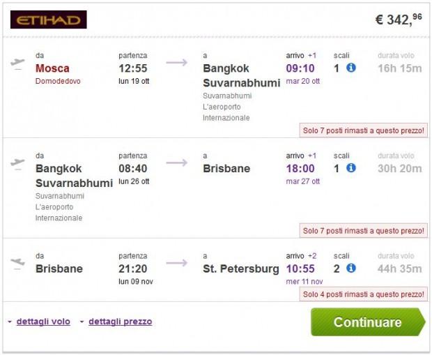 Moskva >> Bangkok >> Brisbane >> St. Petersburg