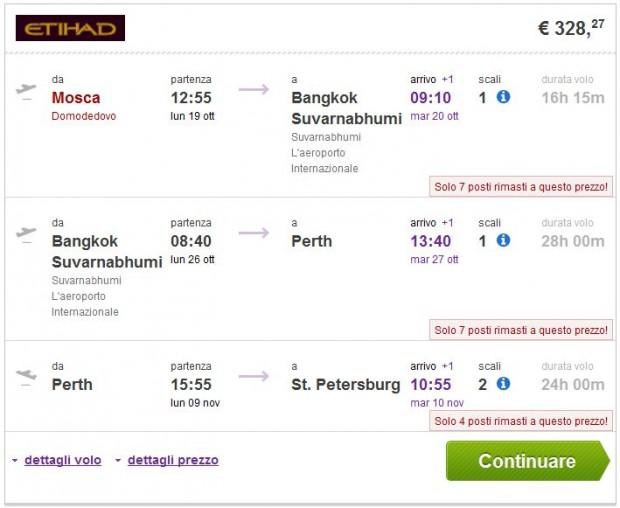 Moskva >> Bangkok >> Perth >> St. Petersburg