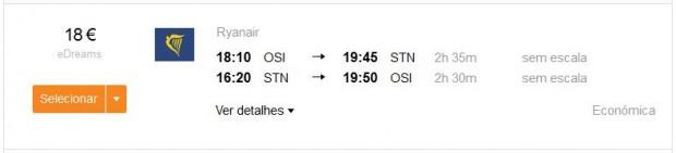 Osijek >> London >> Osijek, kayak.pt