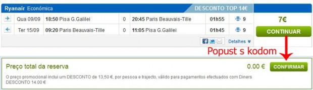 Pisa >> Pariz >> Pisa