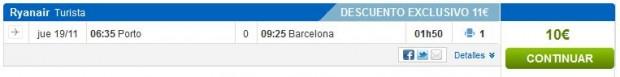 Porto >> Barcelona