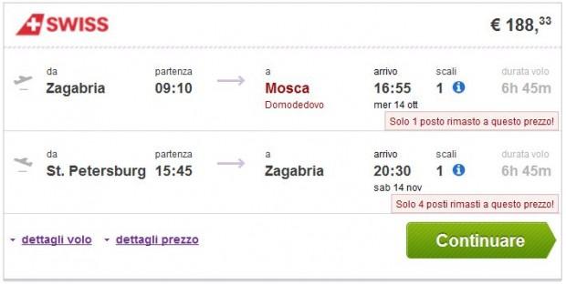 Zagreb >> Moskva -- St. Petersburg >> Zagreb