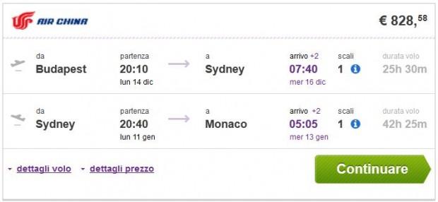 Budimpešta >> Sydney >> Minhen