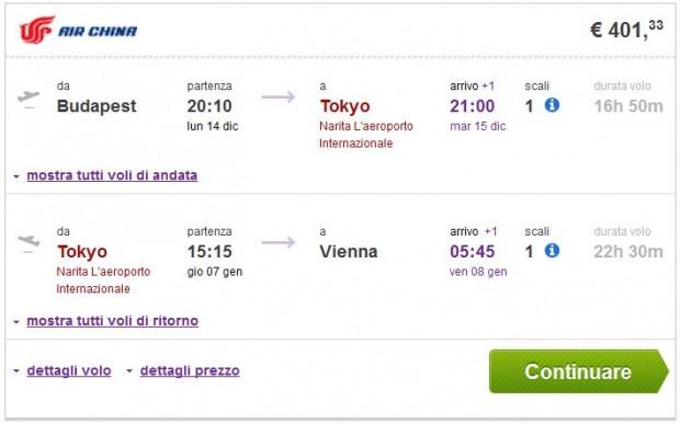 Budimpešta >> Tokio >> Beč