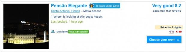 Lisabon hotel