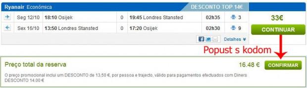 Osijek >> London >> Osijek