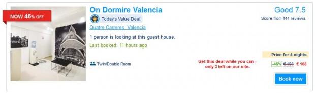 Valencia, On Dormire Valencia