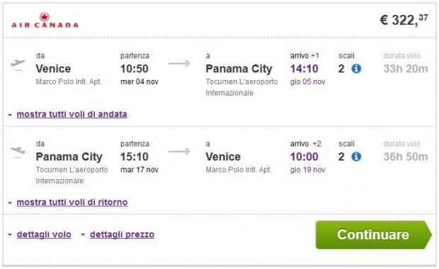Venecija >> Panama >> Venecija