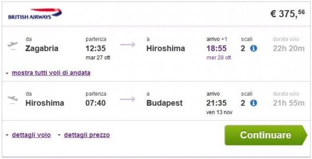 Zagreb >> Hirošima >> Budimpešta