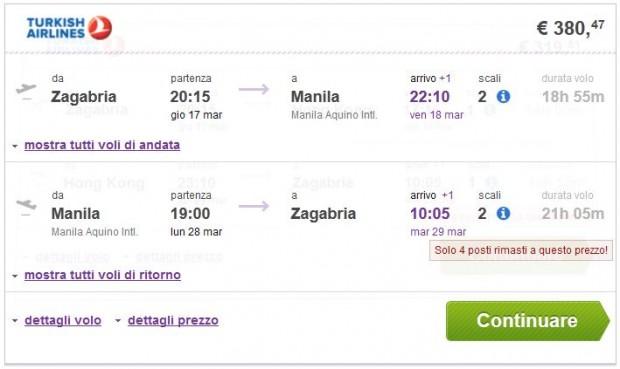 Zagreb >> Manila >> Zagreb