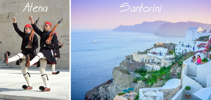 Atena-Santorini