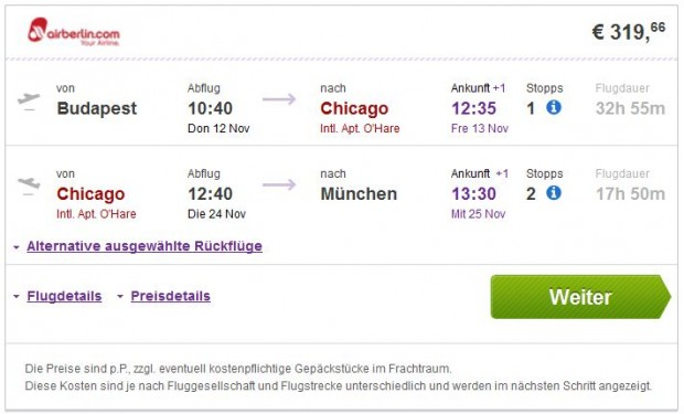 Budimpešta >> Chicago >> Minhen
