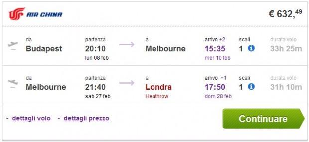 Budimpešta >> Melbourne >> London