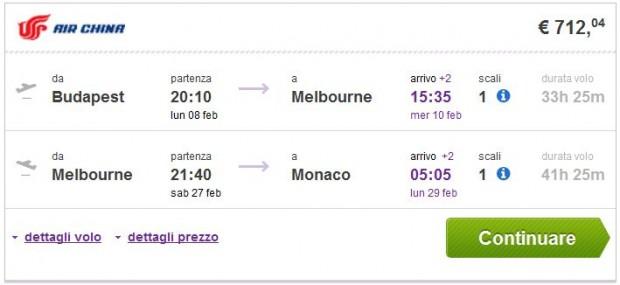 Budimpešta >> Melbourne >> Minhen