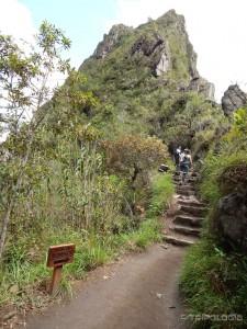 Uspon na Huayna Picchu počinje ovako...