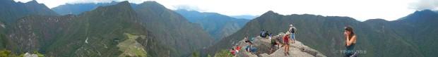 Ubrzo je na vrhu Huayna Picchua postala gužva