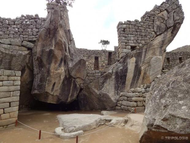 Templo del Cóndor, kondorov hram nalik je ptici raširenih krila