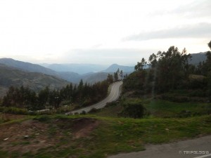Spust niz Ande kroz bezbroj serpentina