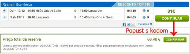 Milano (Bergamo) >> Lanzarote >> Milano (Bergamo)