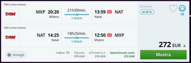 Milano >> Natal >> Milano