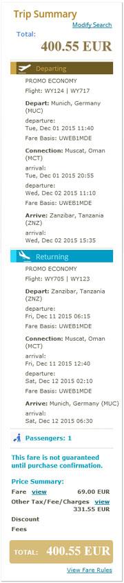 Minhen >> Zanzibar >> Minhen