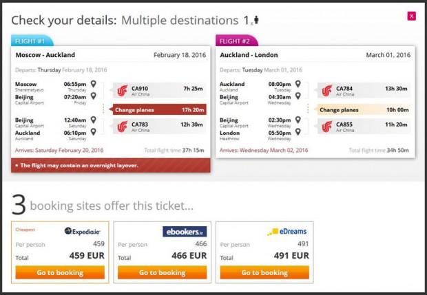 Moskva >> Auckland >> London