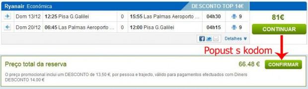 Pisa >> Gran Canaria >> Pisa
