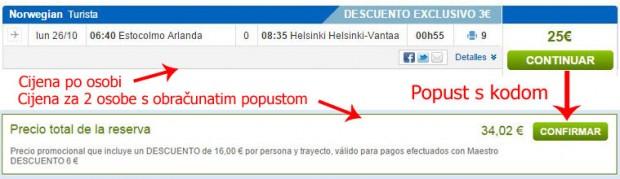 Štokholm >> Helsinki