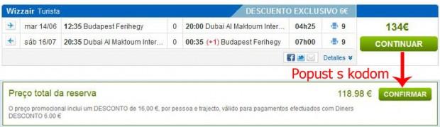 Budimpešta >> Dubai >> Budimpešta, na rumbo.pt stranicama