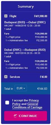 Budimpešta >> Dubai >> Budimpešta