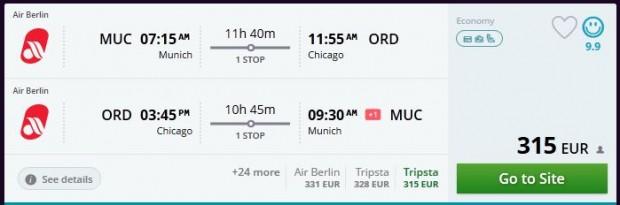 Minhen >> Chicago >> Minhen