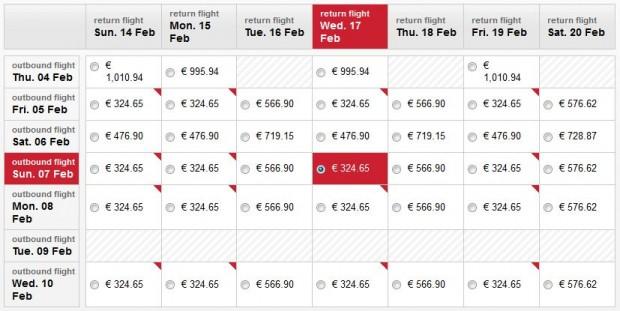 Minhen >> Chicago >> Minhen, na Air Berlin stranicama