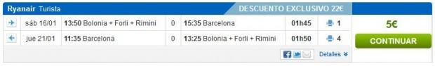 Bolonja >> Barcelona >> Bolonja