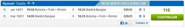 Bolonja >> Madrid >> Bolonja