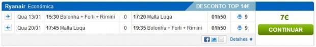 Bolonja >> Malta >> Bolonja