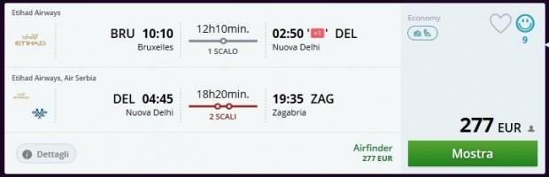 Brisel >> Delhi >> Zagreb