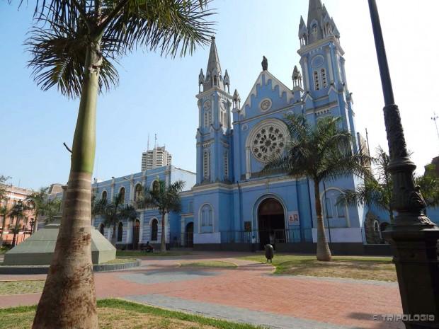 Živopisne boje Lime, Iglesia La Recoleta