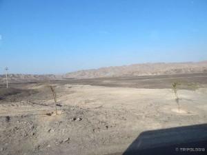 Peruanska pustinja negdje oko Nazce...