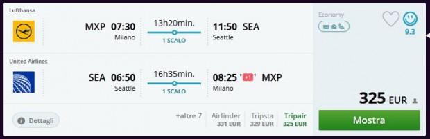 Milano >> Seattle >> Milano