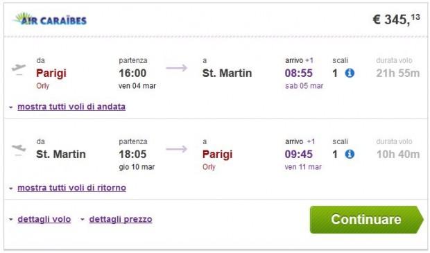 Pariz >> St. Martin >> Pariz