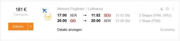 Strasbourg >> Rio de Janeiro >> Strasbourg