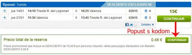 Trst >> Valencia >> Trst, na rumbo.es stranicama