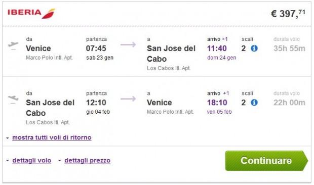 Venecija >> San Jose del Cabo >> Venecija