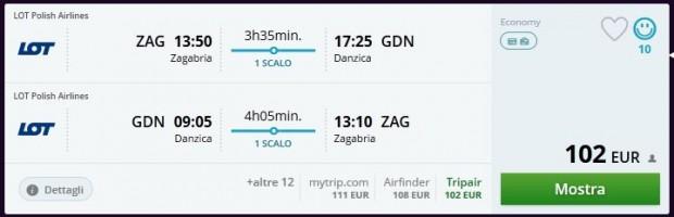 Zagreb >> Gdanjsk >> Zagreb