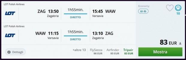 Zagreb >> Varšava >> Zagreb
