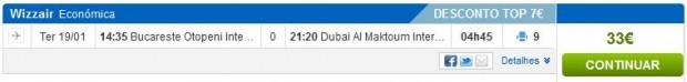 Bukurešt >> Dubai