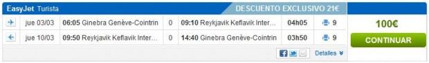 Ženeva >> Reykjavik >> Ženeva
